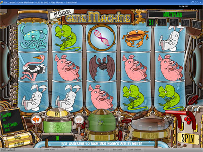 Dr Carters Gene Machine™ Slot Machine Game to Play Free in PartyGamings Online Casinos