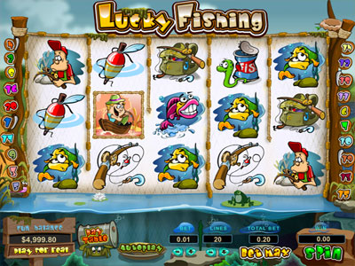 Lucky Fishing Slots screenshot