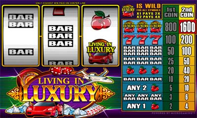 Living in Luxury Slots - Gambling-