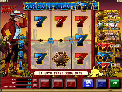 Free Magnificent Sevens Slot