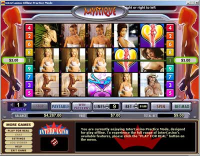 Mystique Club™ Slot Machine Game to Play Free in Cryptologics Online Casinos