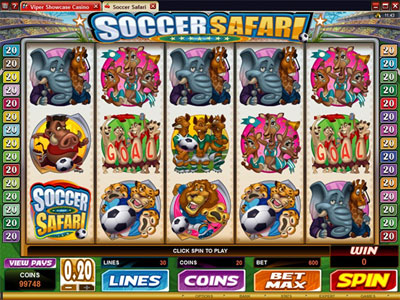 Free Soccer Safari Slot