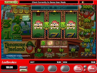 Free Treasure Ireland Slot