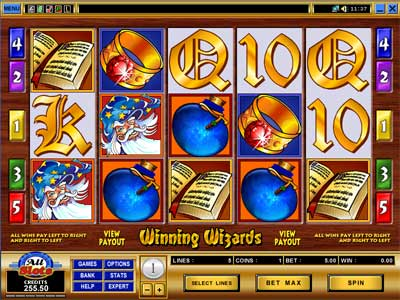 online casino games reviews wizards win