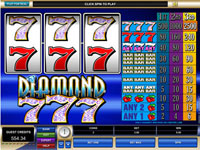 Enlarge Diamond Sevens Slots Screenshot