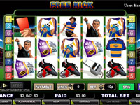 Enlarge Free Kick Slots Screenshot