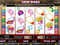 Enlarge Love Bugs (Cryptologic) Slots Screenshot
