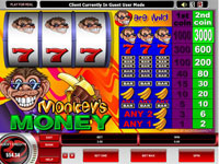 Enlarge Monkey's Money Slots Screenshot