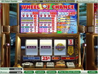 Enlarge Wheel of Chance 3-Reels Slots Screenshot