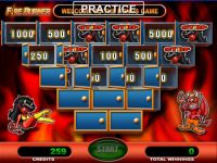 Fire Burner GTECH Slot Bonus 1