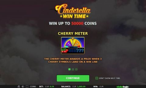 Cinderella Win Time StakeLogic Slot Info, Bonus 1