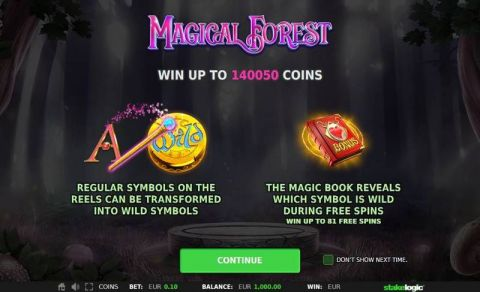 Magical Forest StakeLogic Slot Info, Bonus 1