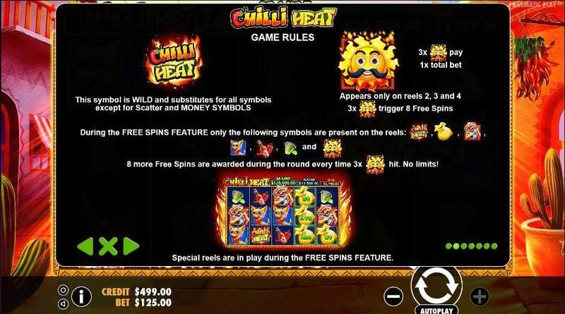 Chilli Heat Pragmatic Play Slot Bonus 1, Free Spins Feature