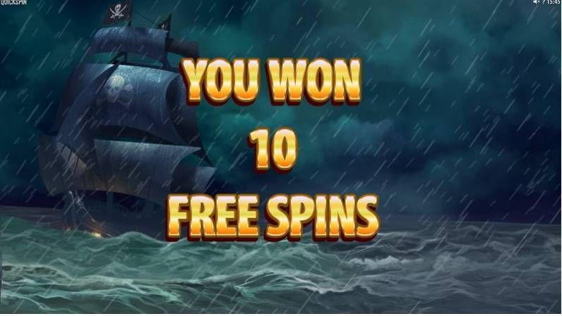 Pirates Charm Quickspin Slot Bonus 2, Free Spins Feature