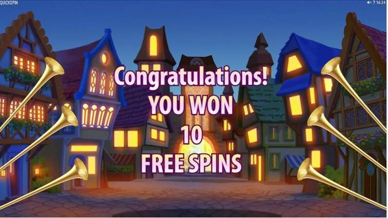 Pied Piper Quickspin Slot Winning, Free Spins Feature
