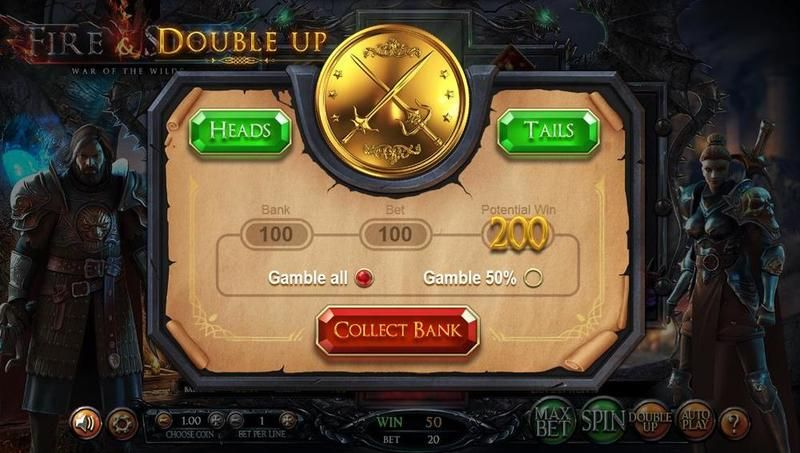 Fire & Steel Betsoft Slot Gamble Screen
