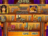 Cleo Queen of Egypt CryptoLogic Slot Info