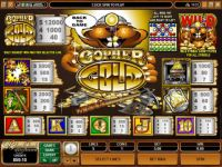 Gopher Gold Microgaming Slot Info