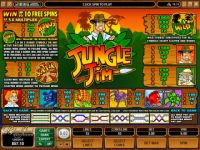 Jungle Jim Microgaming Slot Info