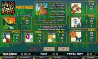 Jungle King CryptoLogic Slot Info