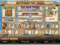 Legend of Zeus bwin.party Slot Info