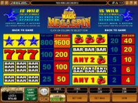Mega Spin - Double Magic Microgaming Slot Info