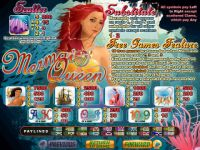 Mermaid Queen RTG Slot Info