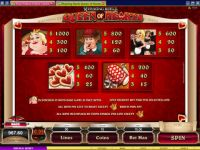 Rhyming Reels - Queen of Hearts Microgaming Slot Info
