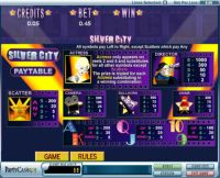 Silver City bwin.party Slot Info