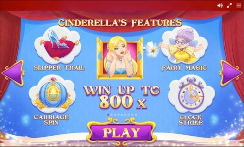 Cinderella Red Tiger Gaming Slot Info