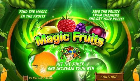 Magic Fruits Deluxe Wazdan Slot Info