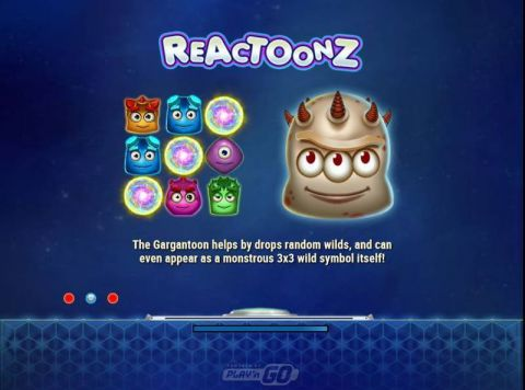 Reactoonz Play'n GO Slot Info