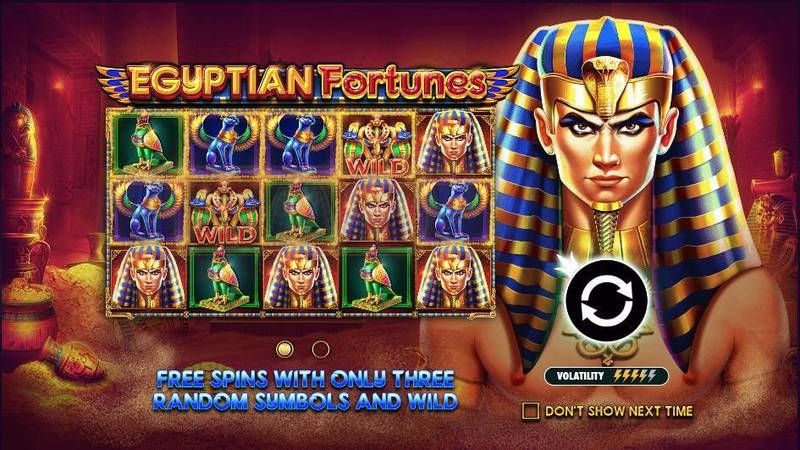 Egyptian Fortunes Pragmatic Play Slot Info