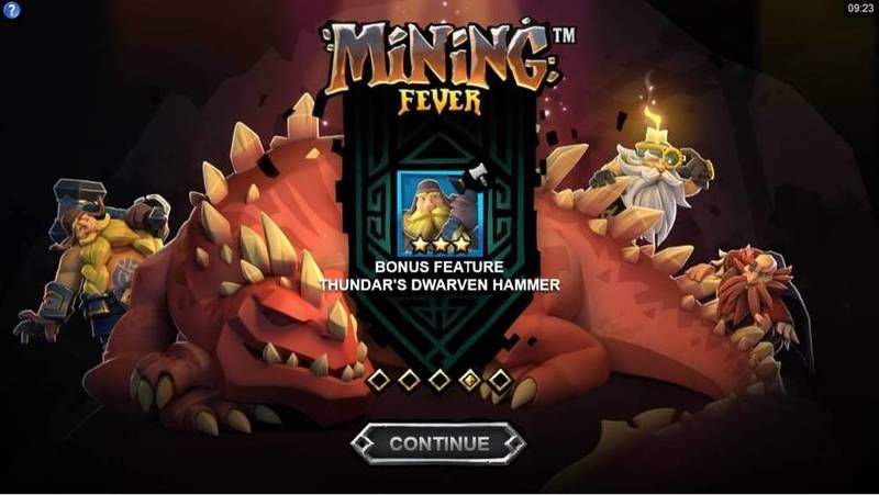 Mining Fever Microgaming Slot Info