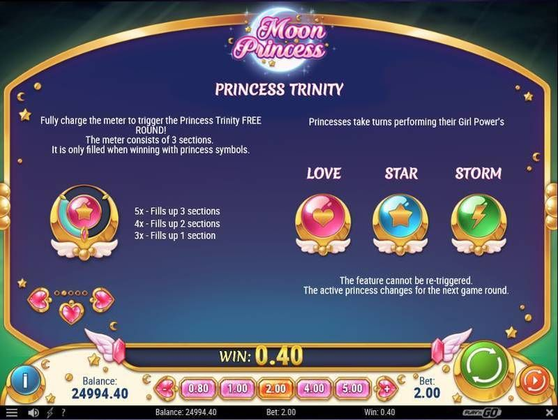 Moon princess slots 5 reel27 way by playn go moon princess playn go slot info malvernweather Images