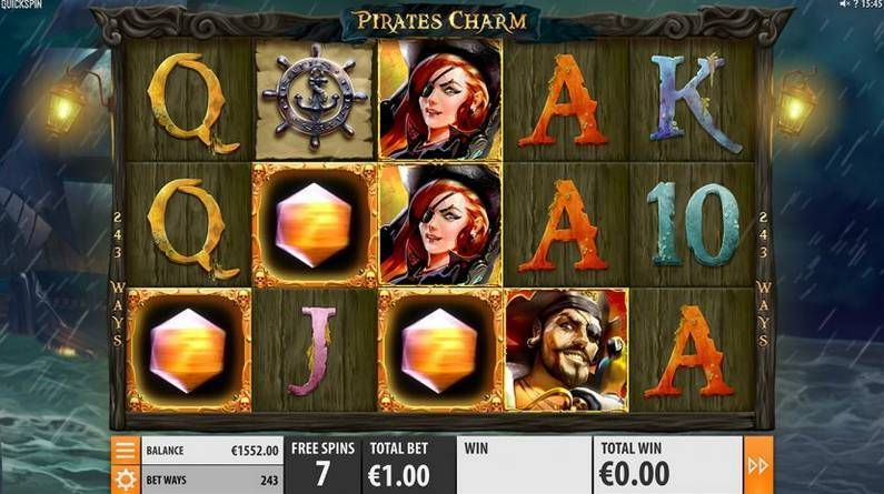 Pirates Charm Quickspin Slot Info