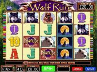 Wolf Run IGT Slot Main