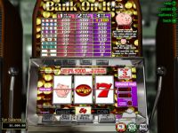 Bank on It RTG Slot Slot Reels