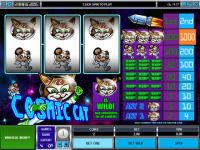 Cosmic Cat Microgaming Slot Slot Reels