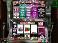Diamond Mine Deluxe RTG Slot Slot Reels