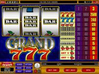 Grand 7's Microgaming Slot Slot Reels