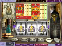 King Tut's Treasure WGS Technology Slot Slot Reels