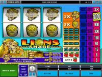 Lions Share Microgaming Slot Slot Reels