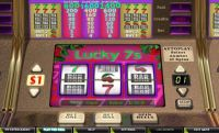 Lucky 7s CryptoLogic Slot Reels