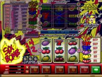 Six Bomb Microgaming Slot Reels