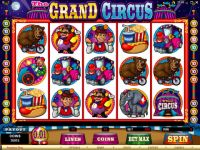The Grand Circus Microgaming Slot Slot Reels