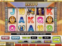 The Last King of Egypt WGS Technology Slot Slot Reels