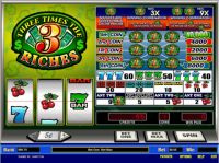 Three Times the Riches Parlay Slot Slot Reels