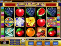 Wheel of Wealth Special Edition Microgaming Slot Slot Reels