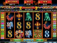 Year of Fortune RTG Slot Slot Reels